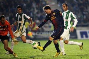 La victòria del Barça contra el Còrdova va ser seguida per més d'un milió d'espectadors