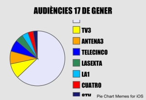 Repartiment de les audiències del 17 de gener.