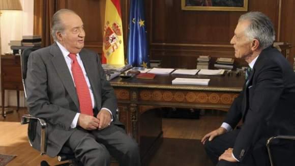 El monogràfic que va oferir La1 sobre el Rei Joan Carles I, no va tenir gaire seguiment a Catalunya