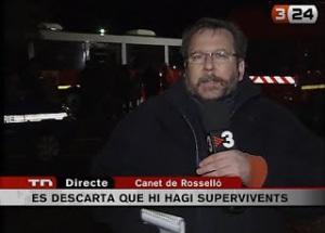 Pere Codonyan, un dels periodistes més emblemàtics de TV3, era el responsable de la delegació de Perpinyà.
