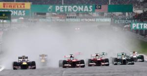 La carrera de Formula1 del G.P. de Malaisia va ser líder a TV3. Font: Reuters / Tim Chong