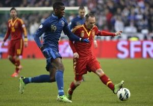 El partit entre França i Espanya va ser l'espai més vist del dia amb un 42,2% de share i 1.380.000 espectadors.