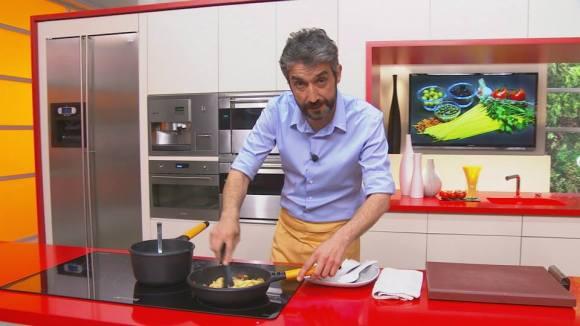 Roger de Gràcia va descobrir els secrets dels programes de cuina de TV3.