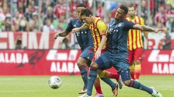 El Barça va caure contra el Bayern en el primer partit d ela pretemporada dels blaugrana.