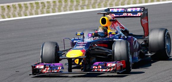 Sebastien Vettel es va imposar al G.P. d'Alemanya.
