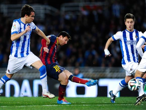 Messi va tornar a marcar ahir.
