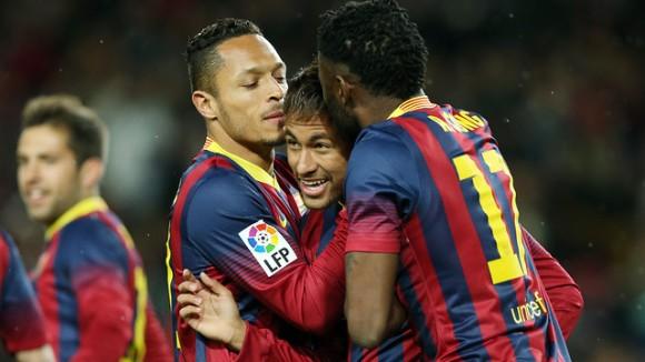 El resum del Barça-Celta va ser l'espai més vist del prime time d'ahir. Font: fcbarcelona