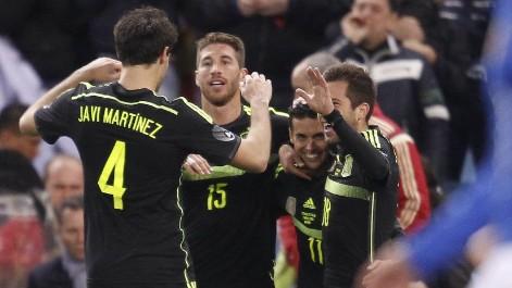 L'Espanya-Itàlia va ser seguit a Catalunya per més de 700.000 espectadors.